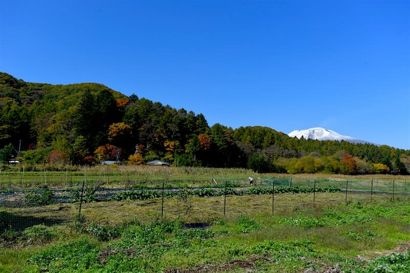 浅間山ー日本・長野県の活火山    —2017.10.26〜27—