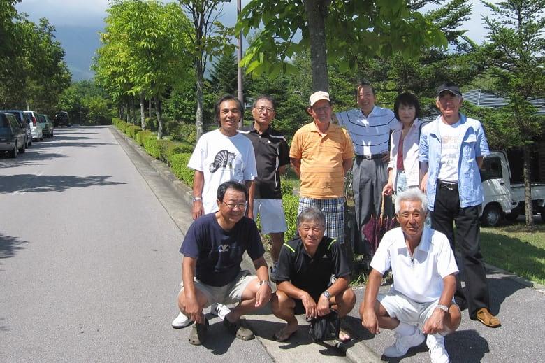 2010.8.28~30軽井沢テニス合宿(立野テニスクラブシニアチーム)—10.9.1—