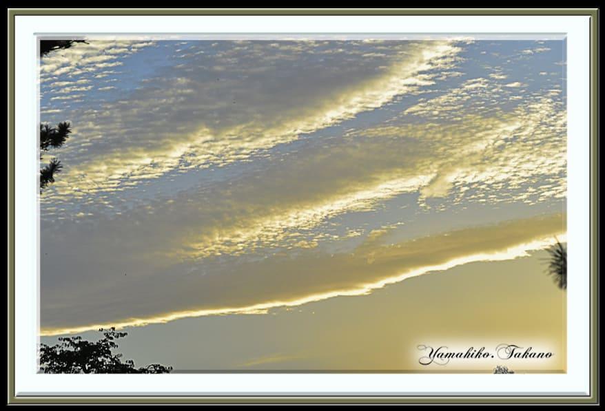 秋の空    —15.9.25—