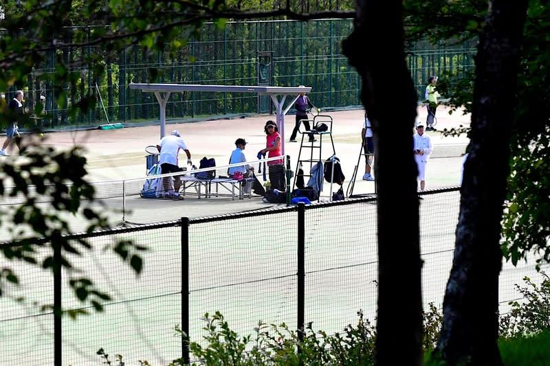 晩夏の軽井沢ーテニス&野鳥散歩  —2018.9.4~6—